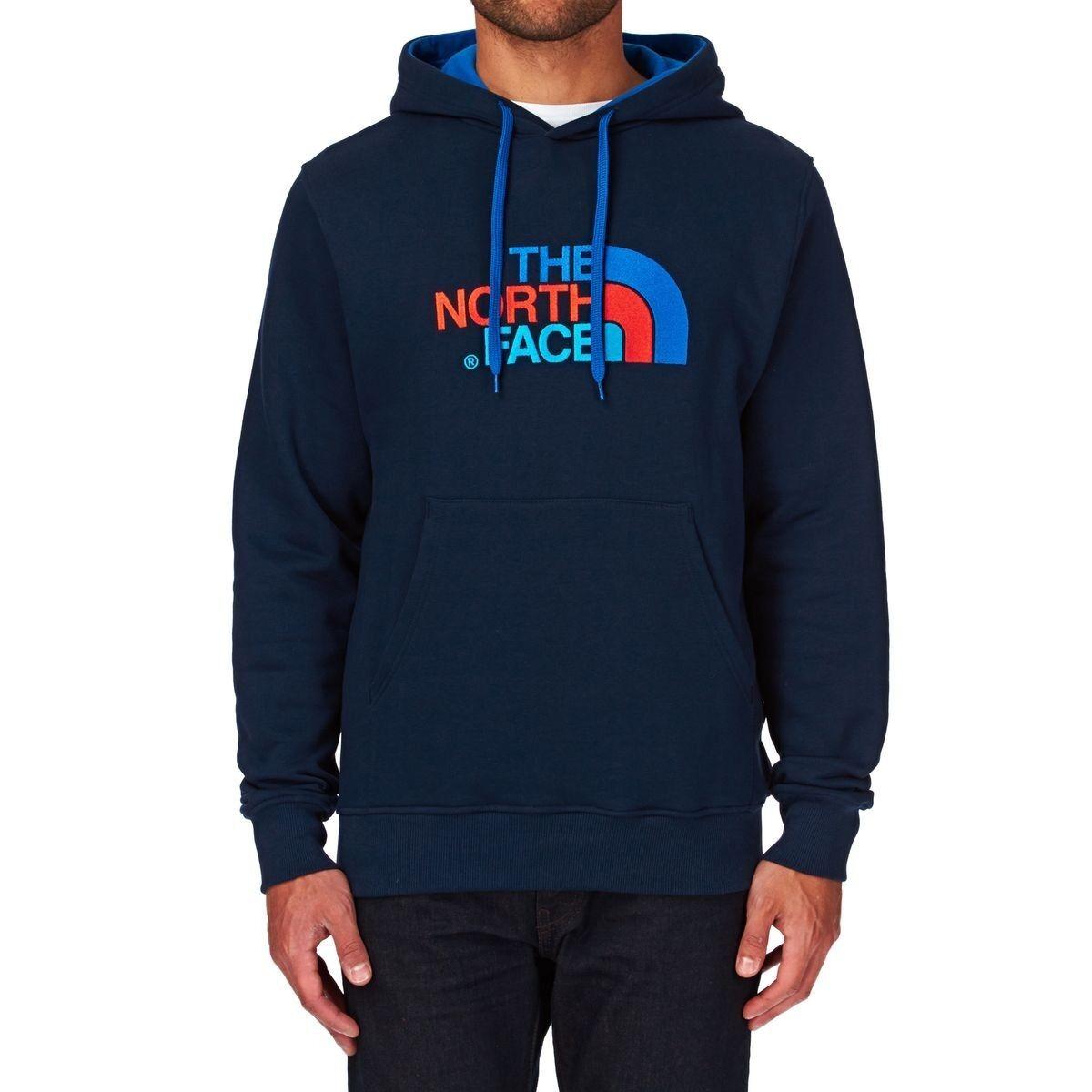 Felpa The North Face Drew Peak Pullover Hoddie Größe S Cosmic Blau Snorkel Blau
