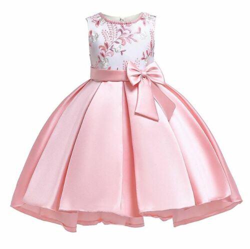 Vestido de niña vestidos de fiesta princesa elegante flor Nuevo Ropa cumpleaños