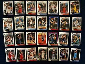 2019-20-PANINI-NBA-HOOPS-BASKETBALL-LOT-OF-102-BASE-CARDS-INCL-3-PARALLLELS