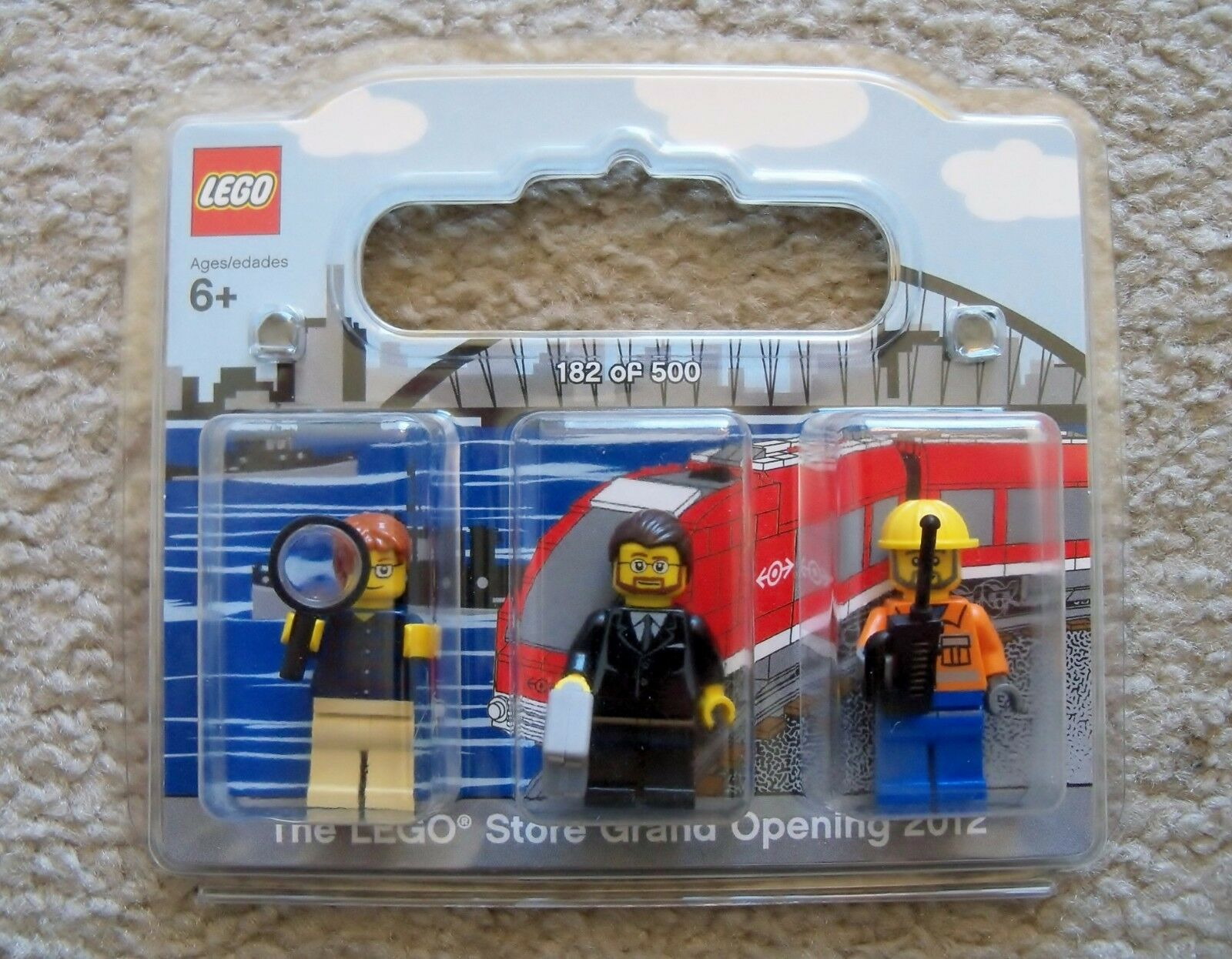 LEGO Store - Rare - Grand Opening Exclusive - Elizabeth NJ 2012 182/500 - New