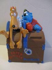 Spardose Käpt´n Blaubär Figuren auf Schatztruhe Postbank 17 cm