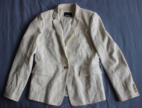 God 8 White Tilstand Regent Brugt J Størrelse Jacket Kvinder Blazer Crew n0wFE8OqZ