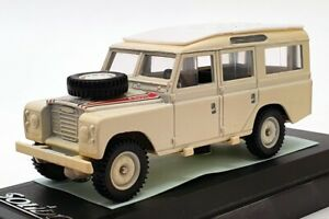 Solido-echelle-1-43-voiture-modele-1914-1979-Land-Rover-Rallye-Creme