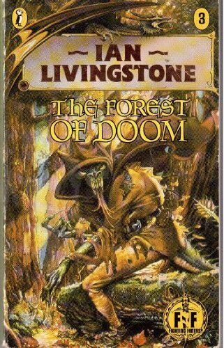 Forest of Doom (Puffin Adventure Gamebooks) by Jackson, Steve 0140316043 The