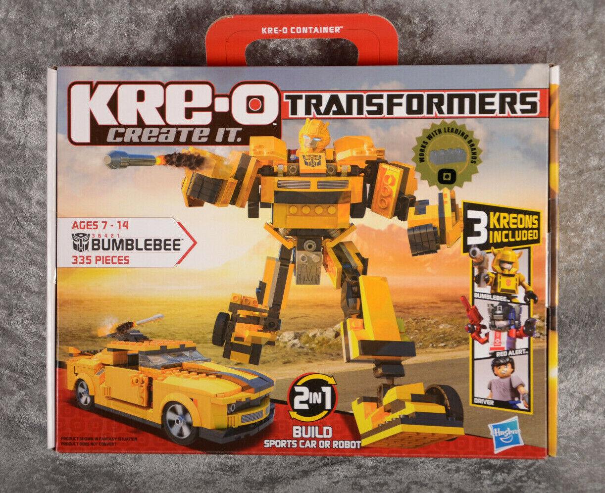 Hasbro Kre-o Transformers BUMBLEBEE BUMBLEBEE BUMBLEBEE Construction Set  36421 335 Pieces NEW e2919b