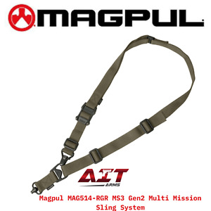 Magpul Industries MS3 Sling Gen 2 Single and Two Point Sling MAG514 Made in USA
