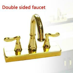 1-12-Scale-Dollhouse-Miniature-Faucet-Mixer-Tap-For-Kitchen-Bathroom-Sink-H1F9