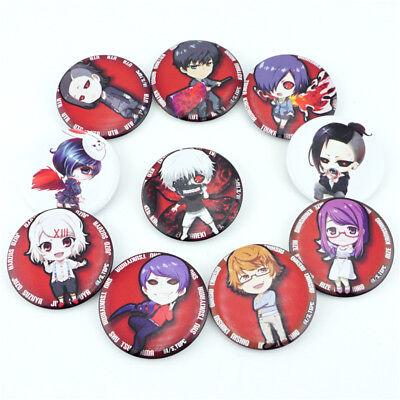 Pins Tokyo Ghoul metal and enamel Pin Badge with Kaneki Mask
