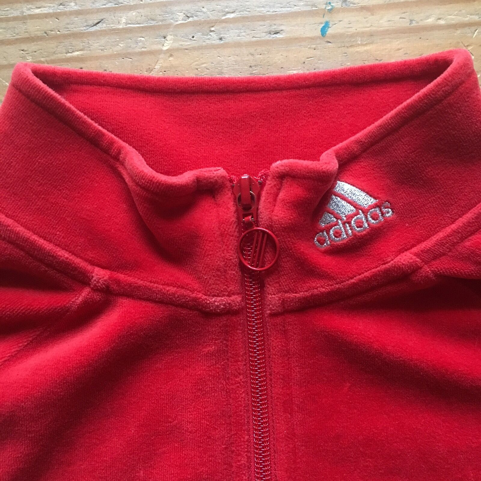 promo code 0ebdb d85d2 adidas Női Közepes Vörös Velúr Csíkos Teljes Zoknitartó 242169 AZB001 0806