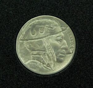 HOBO-NICKEL-1934-USN-UNITED-STATES-NAVY-SIGNED-by-J-ALLEN-4