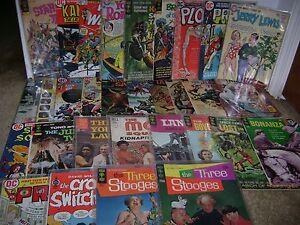 Vintage Comic Book Lot...Tarzan/Lost in Space/Star Trek...Set of 31...Lot 10
