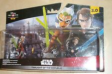 DISNEY Infinity 3.0 3 Modellino Star Wars al crepuscolo della Repubblica serie Crystal Tano