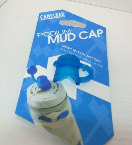 Brand New Genuine Nos Pre-2014 Camelbak Podium Water Bottle Mud Cap Blue