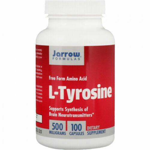 L-Tyrosine, 500 mg, 100 Capsules