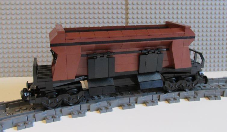 Lego Train Coal Hopper 01 -- PLEASE READ ITEM DESCRIPTION --