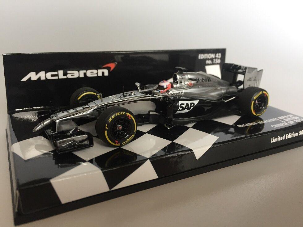 Mini campeón 1  43 mckennes Mercedes MP4 - 29 J. Button 2014 530444 522