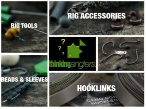 All Available Brand New Thinking Anglers C Clips Drop Off Clips /& Silicone