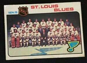 1975-76-Topps-Hockey-St-Louis-Blues-96-Unmarked-Team-Checklist