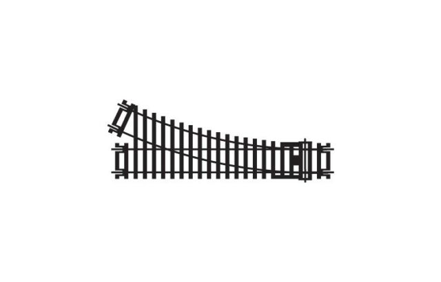 HORNBY R8073 RIGHT HAND POINT TRACK - 00 GAUGE