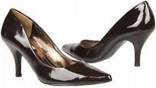 moda Steve Madden Echo pump Marrone Marrone Marrone patent 3  heel 7.5 Med NEW  prezzi all'ingrosso