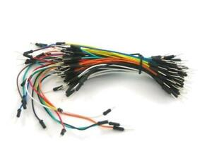 Dupont-Jumper-Wire-Ribbon-GPIO-Cable-40-x-6-034-Male-to-Male-039-Extension-039-40-Pcs