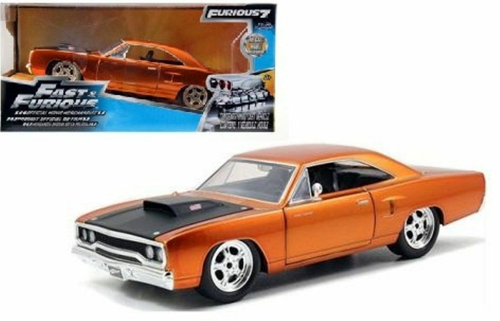 Plymouth Road Runner (1970) 'Dom's' (F7) 1 24 Model Car