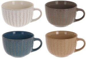 Set-of-4-Jumbo-Large-Soup-Mugs-450ml-Capacity-Multi-Coloured-Coffee-Cocoa-Mug