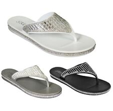 f470f8d220c3 item 3 WOMENS LADIES TOE BOW DIAMANTE JELLY SUMMER FLAT FLIP FLOP THONG  SANDALS SIZE -WOMENS LADIES TOE BOW DIAMANTE JELLY SUMMER FLAT FLIP FLOP  THONG ...
