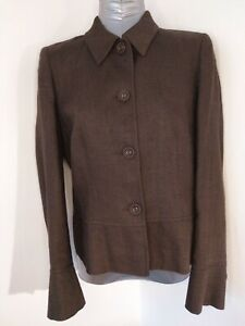 PRINCIPLES-PETITE-JACKET-LINEN-BLEND-SIZE-12-SMART-FORMAL-NIGHT-OUT