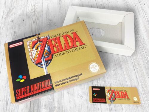 Boite SNES FRA A Link to the Past Zelda Box