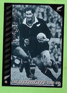 1995 NEW ZEALAND ALL BLACKS RUGBY UNION CARD #43 IAN KIRKPATRICK