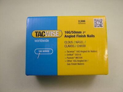 TACWISE STRAIGHT 16G GALV BRAD NAILS PINS DFN50V  RANGER 2 A6435 C1832V SNS41