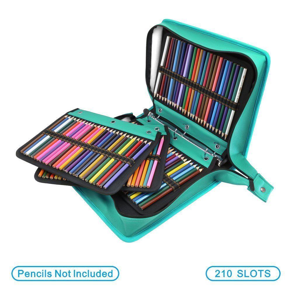 Bundle for Prismacolor 16 Slots Pencil Case Extra Pencil Sleeve Holder 200
