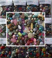 Trabajo Lote bolsa mezclada de azar Acrílico la fabricación de joyas Beads - 100g