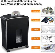 Commercial Paper Shredder Heavy Duty Home Office Cross Cut Credit Card 12 Sheet