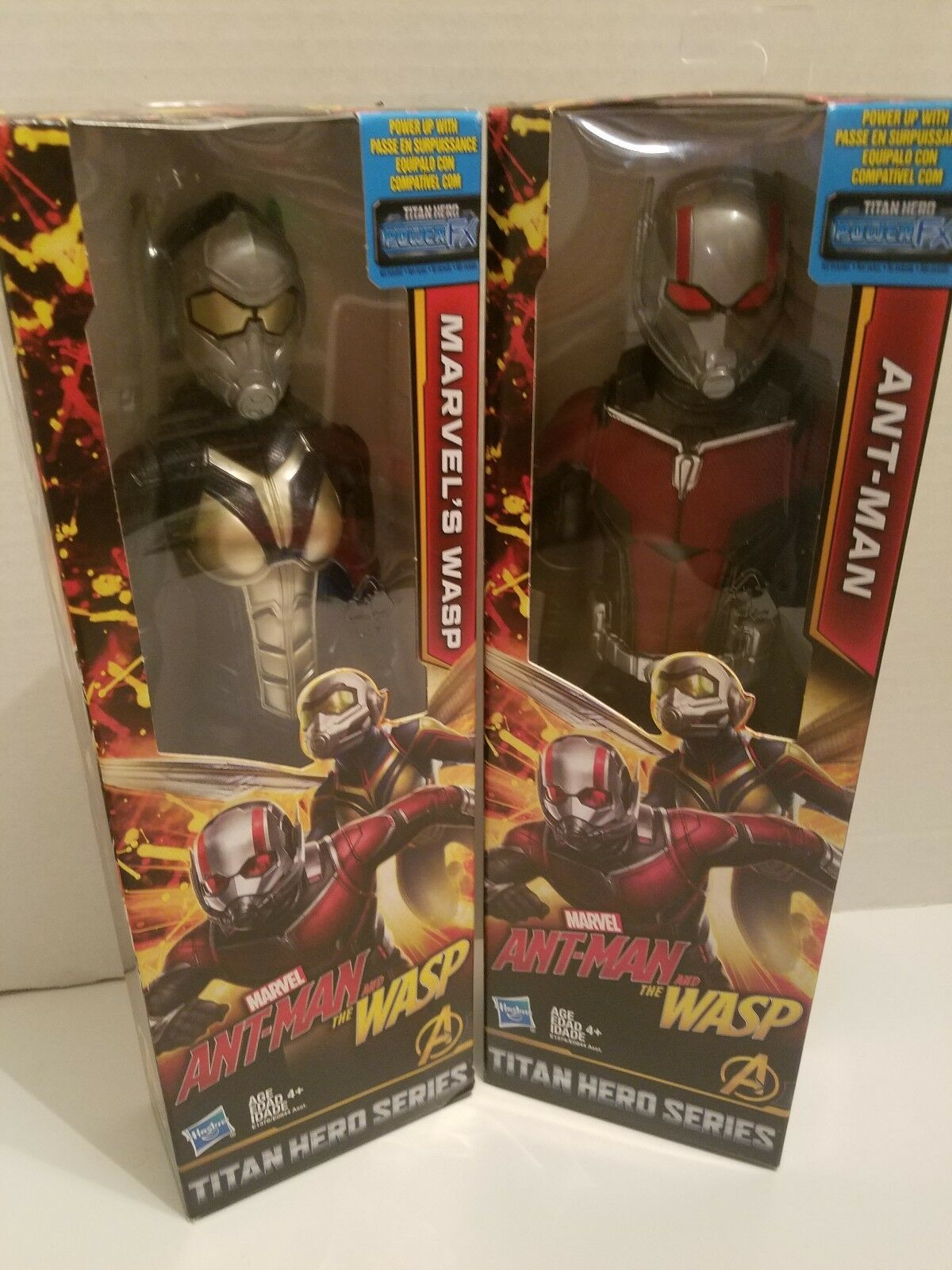 Ant-Man and The Wasp Action Figures Bundle Hasbro Marvel Titan Hero Series New