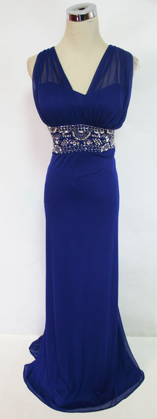 BLONDIE NITES Royal Prom Party Ball Gown 7 -  160 NWT