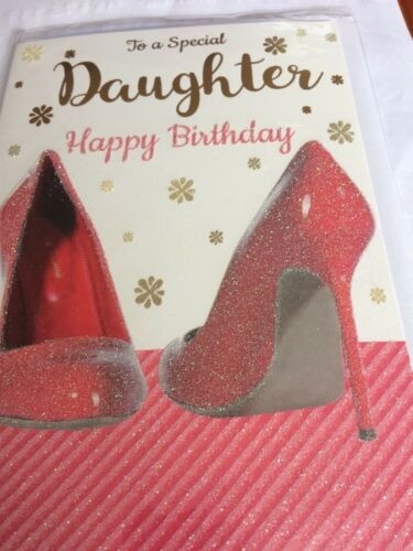 Daughter birthday cards 12 to choose from.