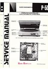 Kenwood Original Service Manual für P 5 D