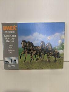 IMEX-Civil-War-Horse-amp-Harness-Set-776-1-32-Sealed-Box