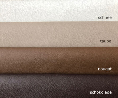für Polsterungen und Bekleidung Kunstleder Farbe taupe