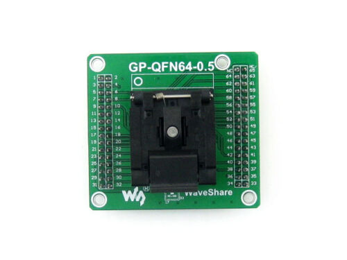 QFN64 MLF64 MLP64 QFN IC programmation Adaptateur Enplas QFN-64BT-0.5-01 0.5 Pitch