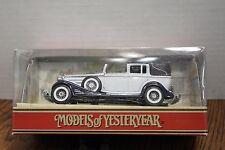 Matchbox Models of Yesteryear 1933 Cadillac 452 V16 Y-34B White, 1:43 NIB