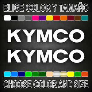 Vinilo-adhesivo-KYMCO-pegatina-autocollant-logo-moto-letras-motor-decal
