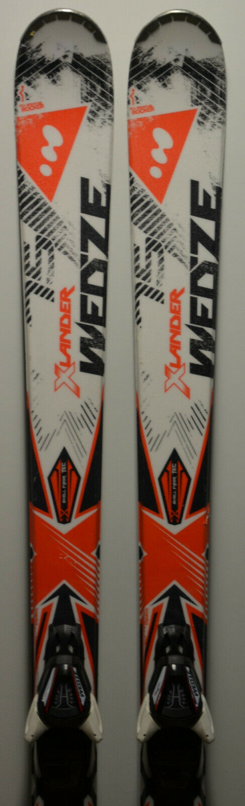 Skis parabolic used WED'ZE Xlander 75 + Bindings - 175cm