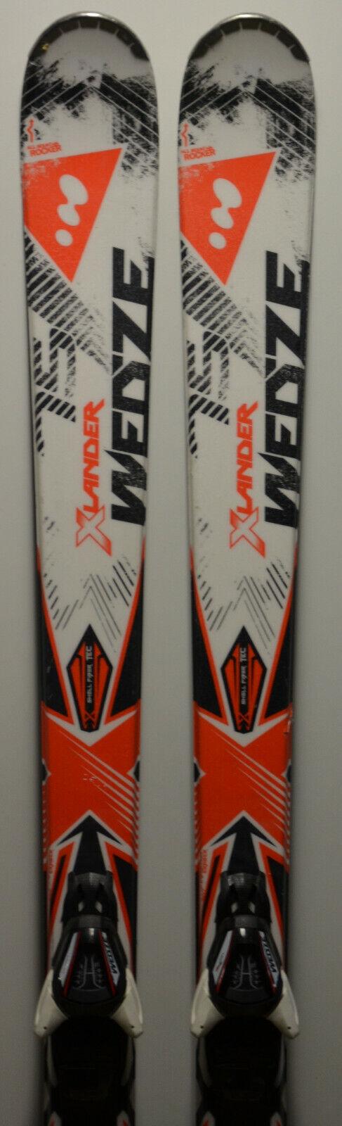 Esquís parabólico usado WED'ZE Xlander 75 + Fijaciones - 175cm