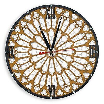 Zen Handcrafted Wooden Wall Clock Ensō circle Buddhism Sign Art home decor
