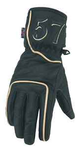 Spada-Classic-57-Leather-Motorcycle-Gloves-Black-Brown