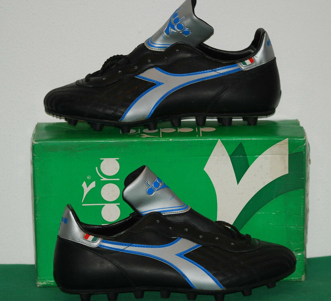 Vintage diadora boats NAPOLI PRO kangaroo GALLI world cup 1982 MEXICO no worn