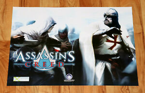 Assassin-039-s-Creed-Dark-Messiah-of-Might-and-Magic-Rare-Poster-Xbox-360-Ubisoft